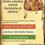 Szent Korona másolata Rendhagyó történelemóra keretében Baranyában