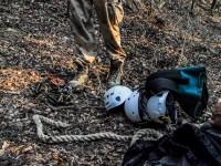 Fontos a profi felszerelés és gyakorlat, a turistatérképen is jelölt barlang korántsem veszélytelen