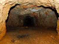 A régi bánya valódi útvesztő