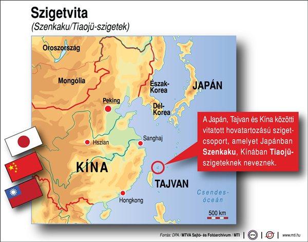 Japán különleges egységet küld a vitatott szigetek védelmére