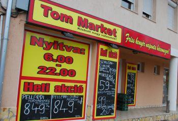 Trükkös lopás a Tom Marketből