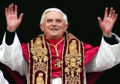 Lemondott Benedek pápa