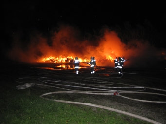 Tűz volt a Beremendi Cementgyárban
