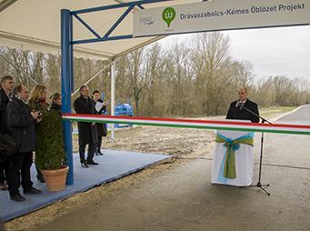 Befejeződött a töltésfejlesztés második szakasza a Dráván