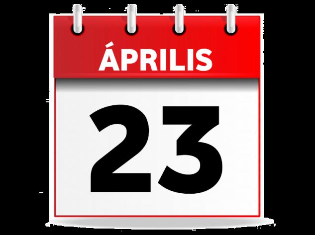 Április 23.