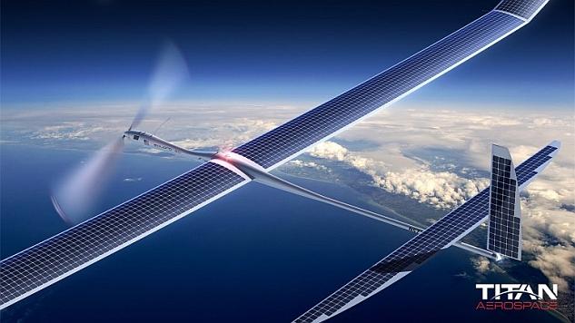 A Google és a Facebook is drónokkal tervez