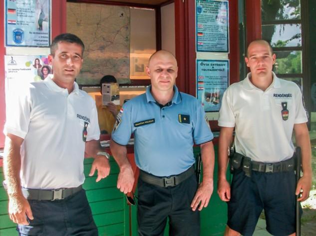 Horvát-magyar közös járőrszolgálat