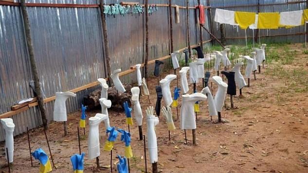 Ebola-beteg Európában, szükségállapot Libériában