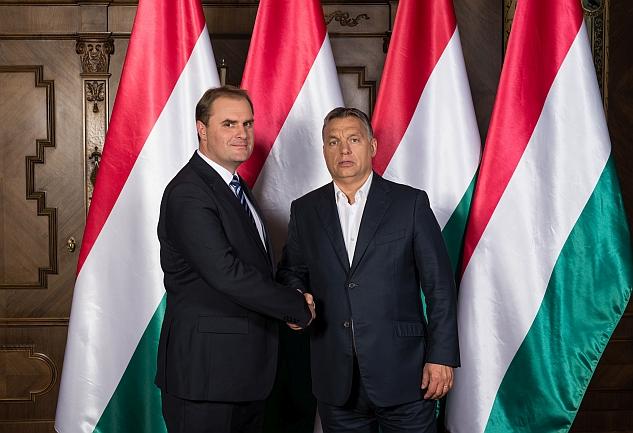 Orbán Viktor Baksai Tamással tárgyalt Harkány jövőjéről