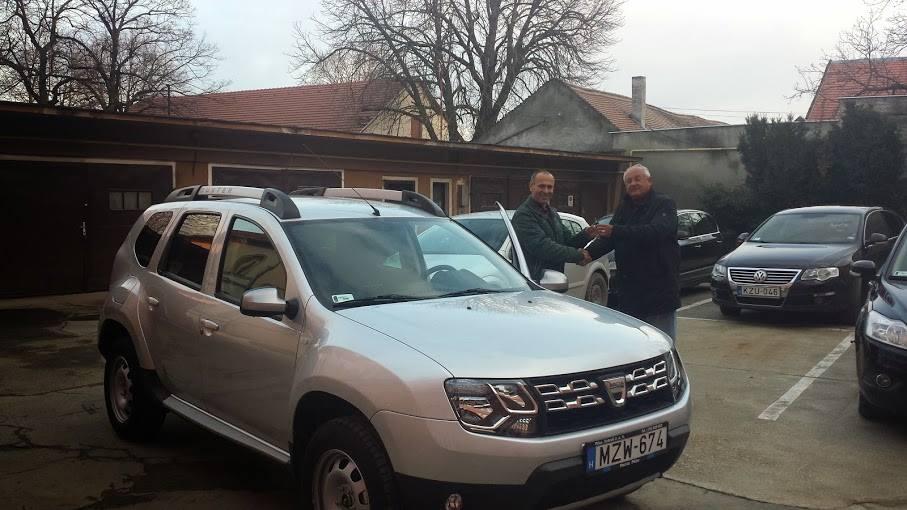 Új ügyeleti autó Siklóson