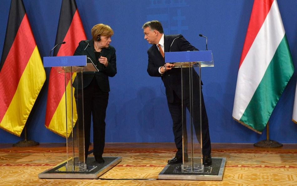 Orbán-Merkel: messze vagyunk az európai eszmerendszertől