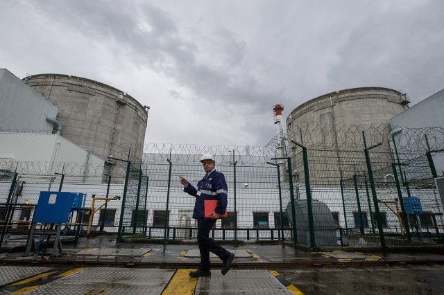 Műszaki hiba miatt állították le az atomerőművet