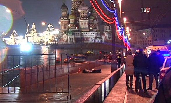 Videón a Nyemcov-gyilkosság