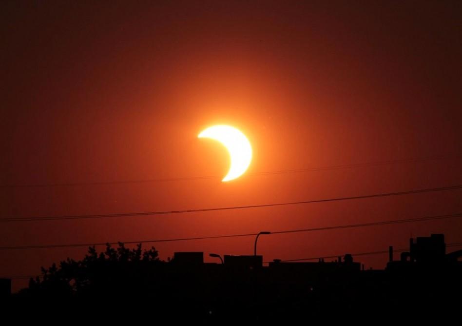 Nézze élőben a napfogyatkozást!