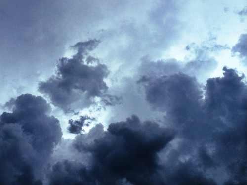 Másodfokú figyelmeztetés zivatar, felhőszakadás miatt