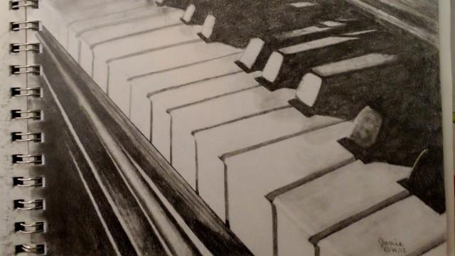 Képzőművészeti kiállítás, ahol a zene van középpontban