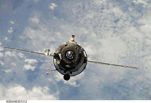Péntek reggel egy űrhajó zuhan a Föld légkörébe