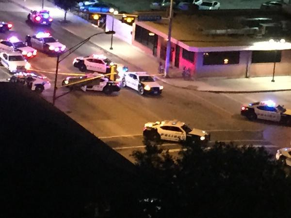 Gépfegyverrel támadtak a rendőrségre – VIDEO