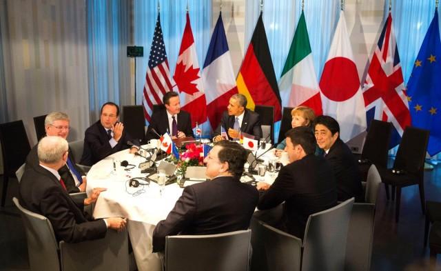 G7: fenn kell tartani az Oroszországgal szembeni szankciókat