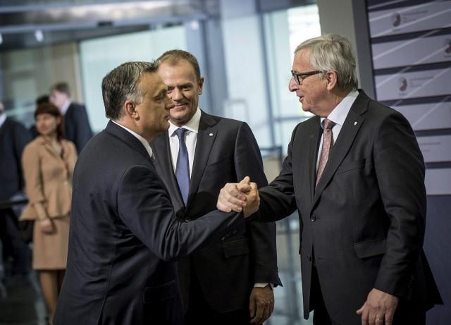 Juncker mostani üzenetében nagyon nem viccelt