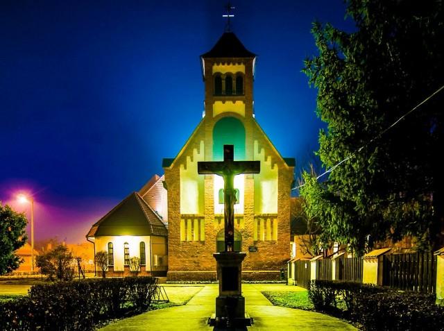 A harkányi római katolikus templom