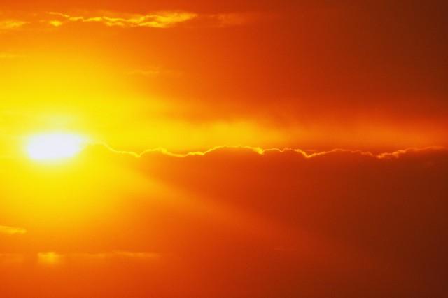 Első fokú figyelmeztetés van érvényben a hőség miatt