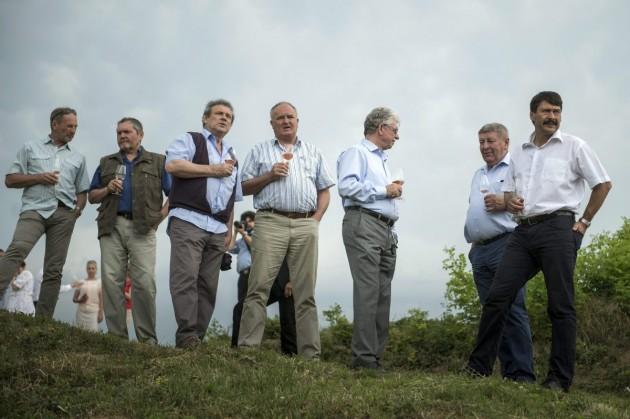Áder Villányban: a borászatnak is fel kell készülni a klímaváltozás hatásaira