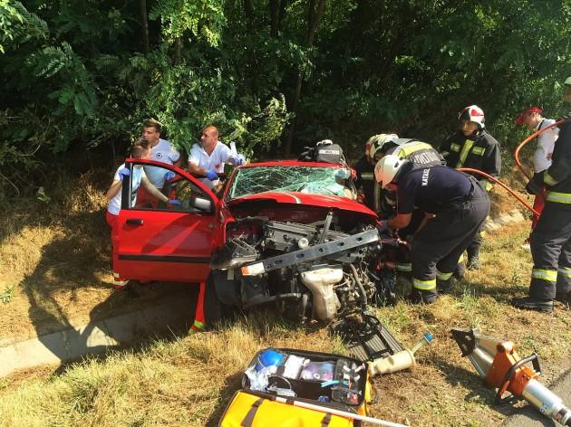 Halálos motorbaleset Baranyában – KÉPEK