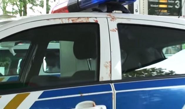 Megtámadtak egy rendőrt Ajkán – VIDEO