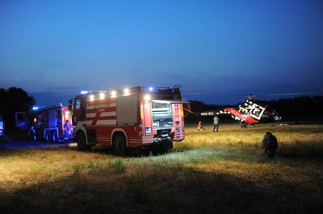 Harmadik napja dolgoznak a tűzoltók a Kiskunsági Nemzeti Parkban