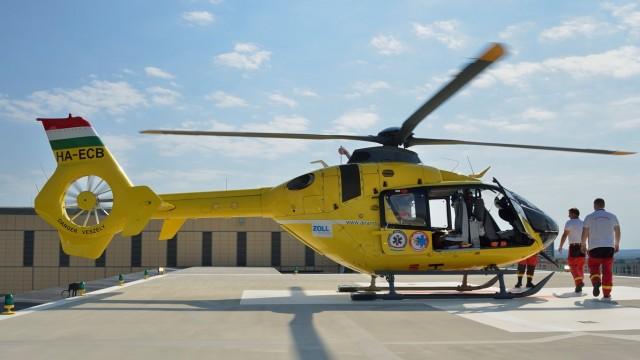 Sikerrel zárult a műszaki próba – helikopter szállhat le a kórház tetején