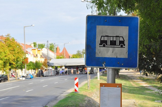 Terelőúton közlekednek Harkányban a buszok