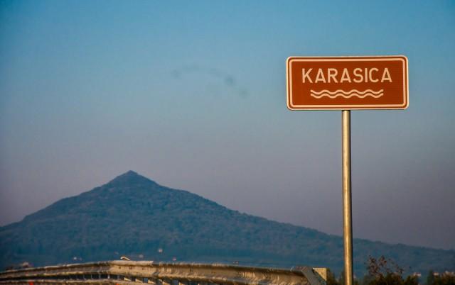 A Karasica Villány határában