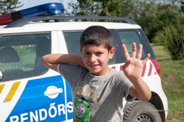 Menekült Illocskán 2015. szeptemberében. Fotó: Kacsúr Tamás, HH