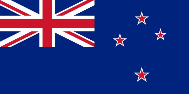 Új-Zéland jelenlegi zászlaja
