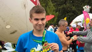 Harkányi sportoló ért célba a Budapest Maratonon