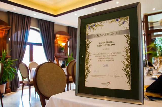 Harkányi étterem lett Rozmaring-díjas