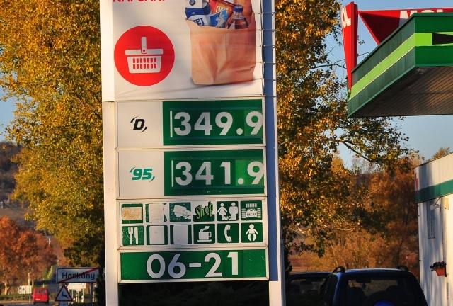 Kilenc nap alatt 14 forinttal drágult a benzin