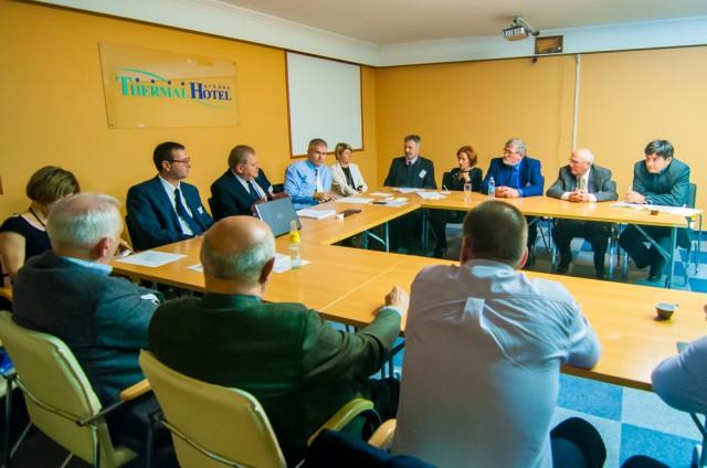 A Magyar Fürdőszövetség Választmányának ülése