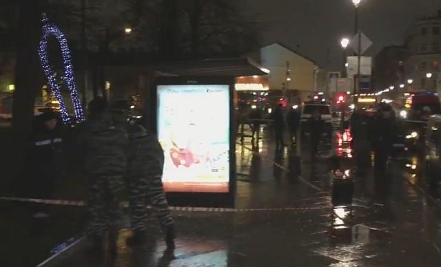 Bomba robbant egy moszkvai buszmegállóban