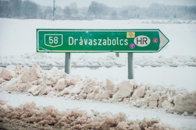 Kemény munkát ad a hó a Katasztrófavédelemnek