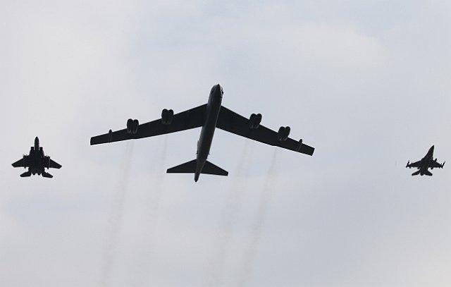 Amerikai gépek Korea felett