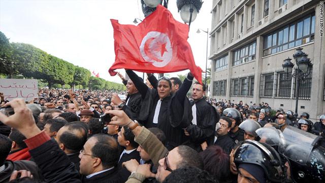 Kijárási tilalom van Tunéziában