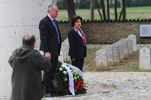 Bolgár nagykövet Harkányban: a harc eredményét ma is őrzik az itt élők