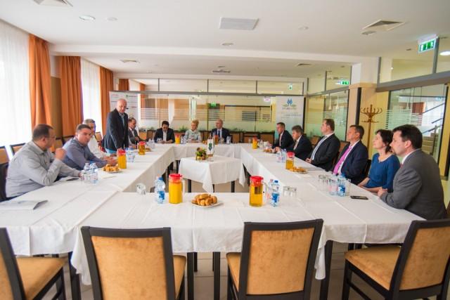 Harkányba látogatott a Jordán Képviselőház küldöttsége