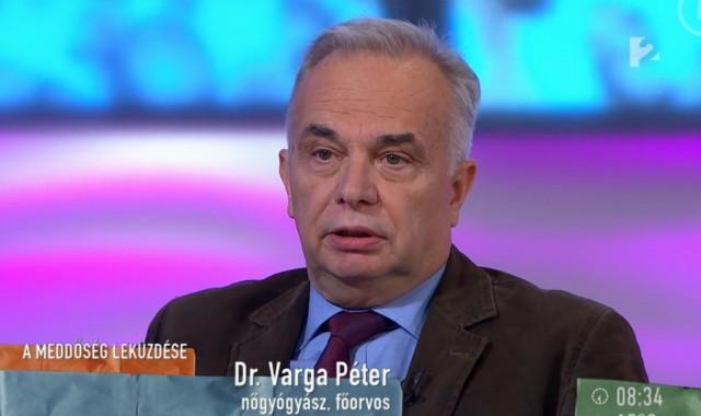 Dr. Varga Péter: egy kincs felett ülünk