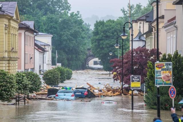 Esőzések: katasztrófahelyzet Németországban és Franciaországban