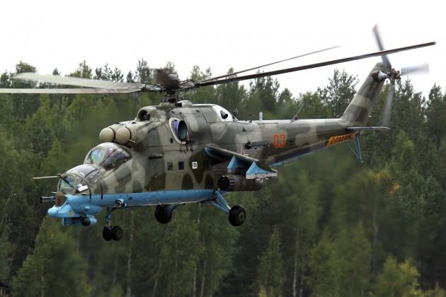 Az Iszlám Állam lelőtt egy orosz helikoptert