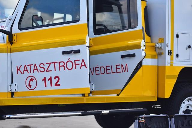 Vegyi anyag tárolására használt tartály robbant fel Balatonfűzfőnél