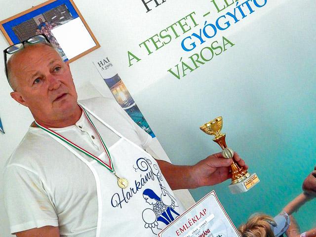 Harkányi bronz a főzőversenyen